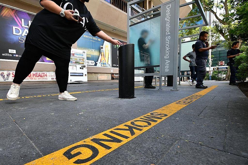 Saman mulai lusa bagi kesalahan merokok di zon larangan Orchard Rd