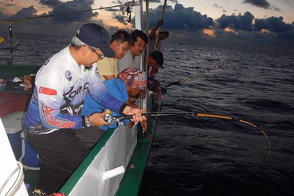 Laut luas sanggup direntas demi minat memancing