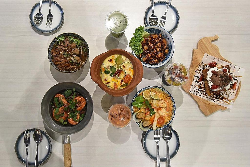 Sediakan makanan Thai demi penuhi selera pelanggan