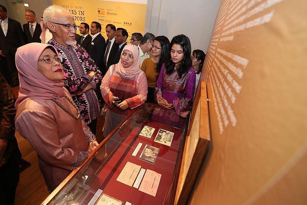 Sumbangan masyarakat Arab di S'pura dikongsi dalam pameran