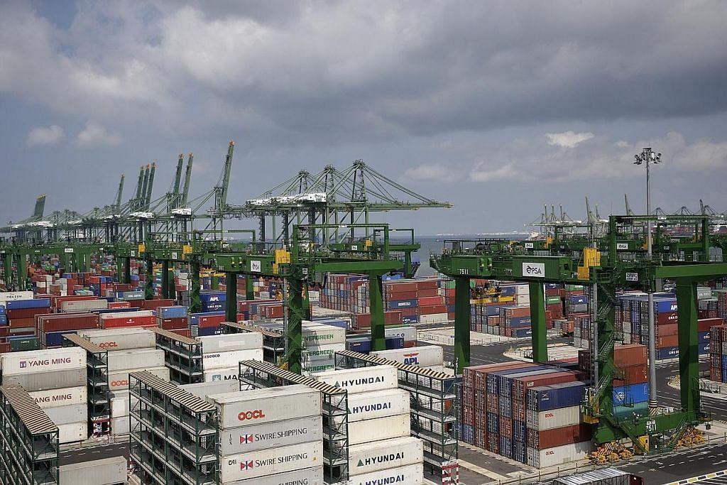 Eksport bukan minyak S'pura turun 11.7% bulan lalu