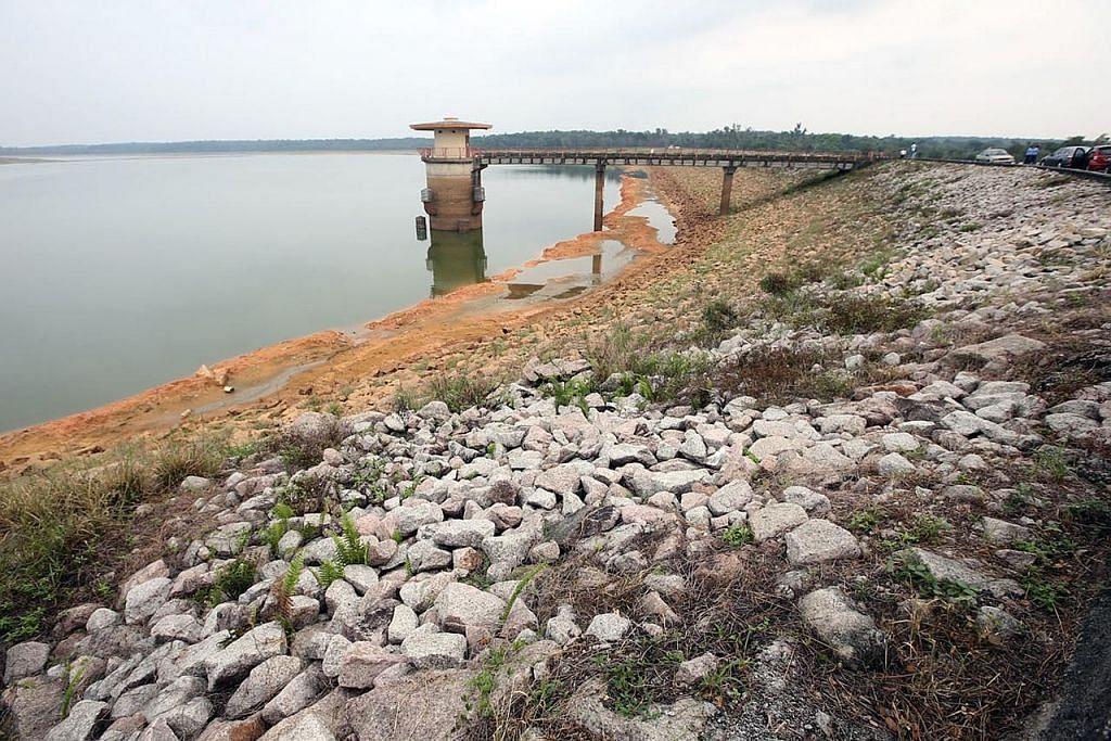 Kadar air di tiga empangan di Johor di tahap kritikal
