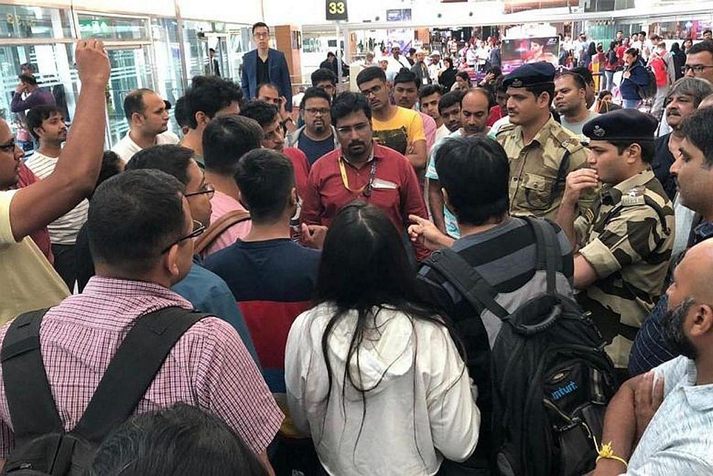 173 penumpang Scoot terkandas di India dek ancaman palsu