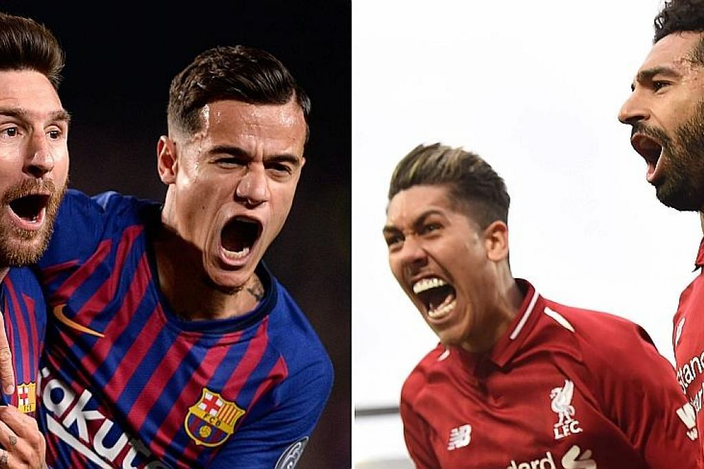 PREVIU: LIGA JUARA-JUARA Separuh akhir Barca-Liverpool bak lawan final