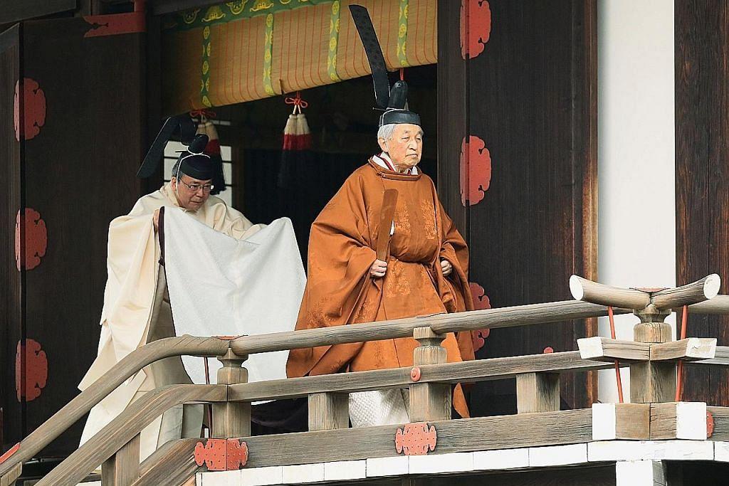 Maharaja Jepun Akihito turun takhta: Presiden Halimah, PM Lee ucap selamat