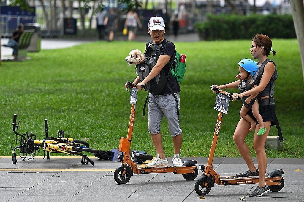 Pemerintah tiada rancangan larang alat mobiliti digunakan di kaki lima