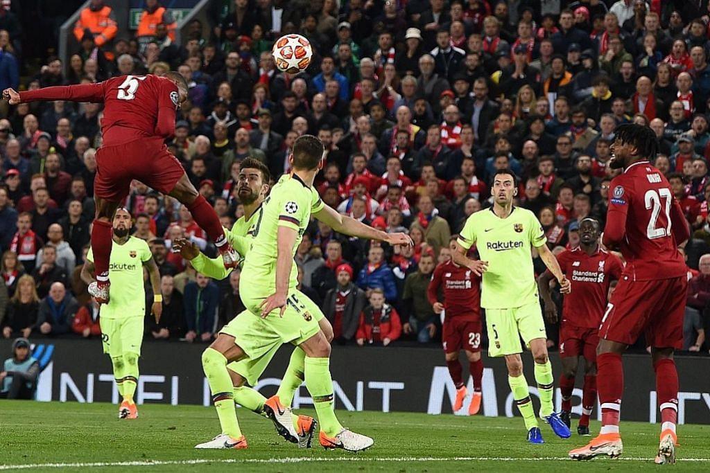 EMPAT JARINGAN EMAS LIVERPOOL Liverpool cipta keajaiban singkir Barcelona