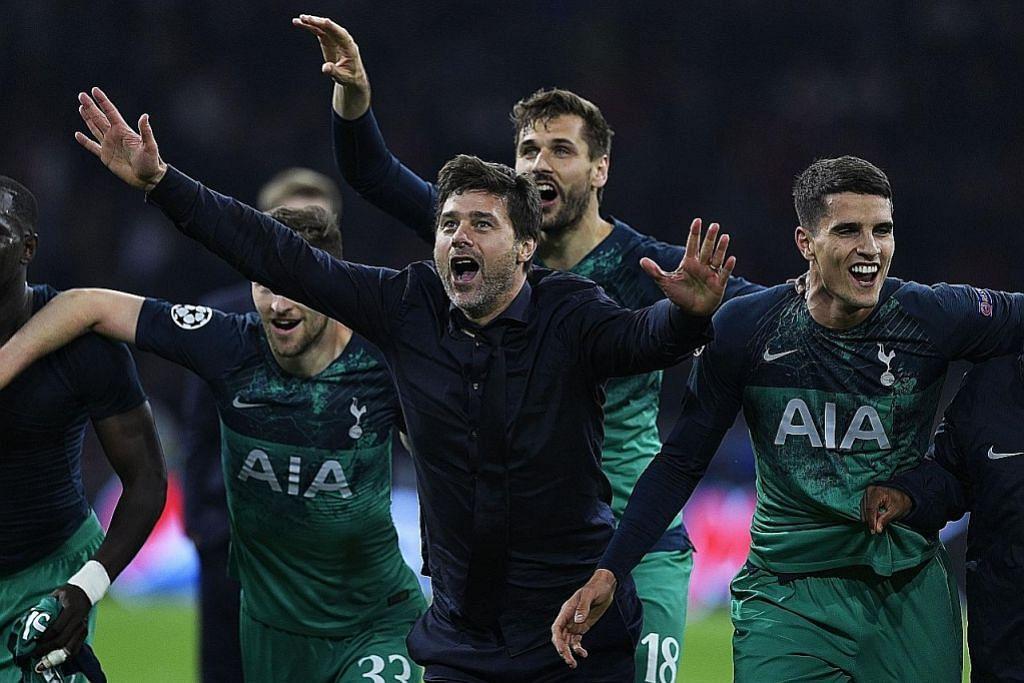 Giliran Tottenham bangkit benam Ajax