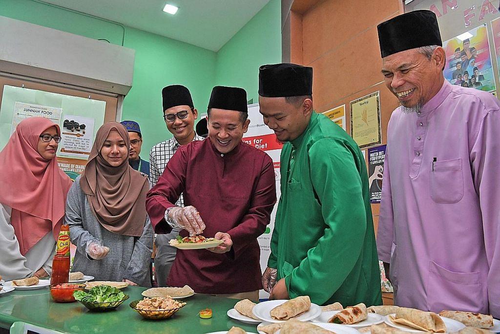 6 masjid saji juadah buka puasa lebih sihat