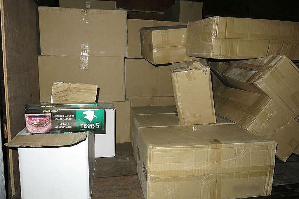 Lebih 9,000 karton rokok tanpa cukai dirampas dalam operasi terbesar tahun ini