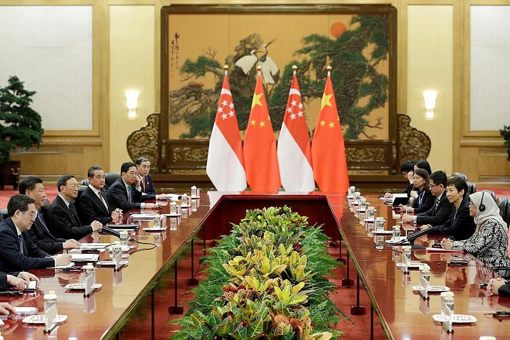 Presiden Halimah lawat China, temui Presiden Xi