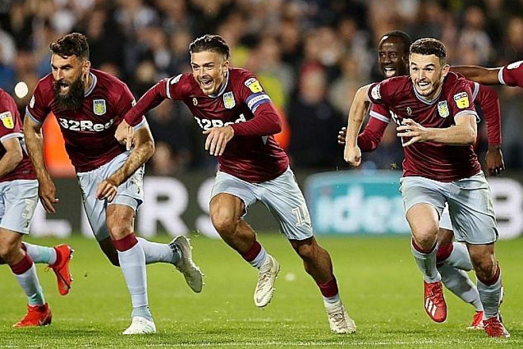 Aston Villa langkah ke final