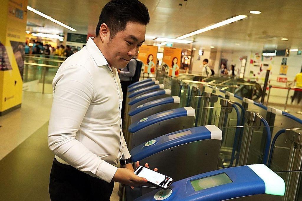 Bayar tambang bas, kereta api guna kad Visa
