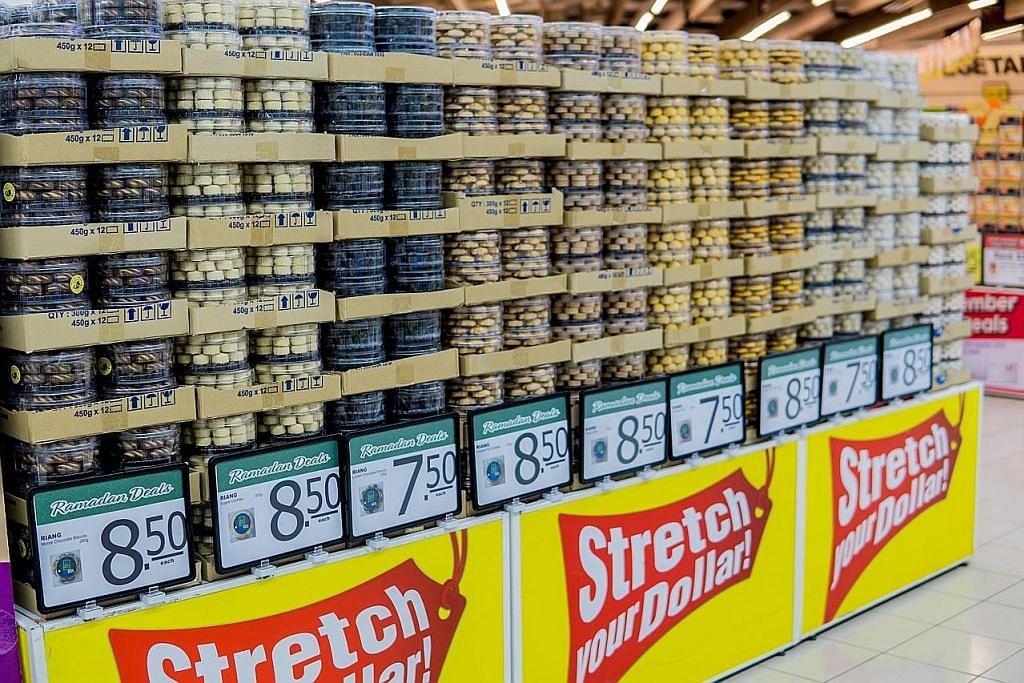 NTUC FairPrice tawar pelbagai diskaun bagi bahan kuih Raya