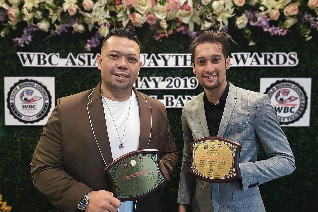 Pencapaian dua wakil S'pura diiktiraf WBC Asia