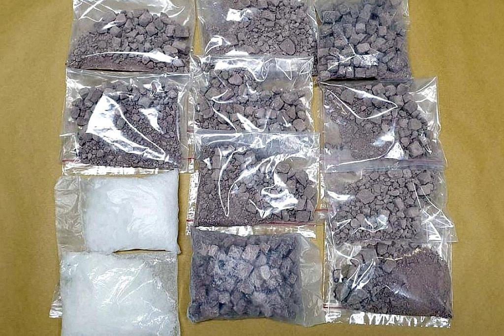 CNB berkas lapan individu, rampas heroin, Ice bernilai $247,000