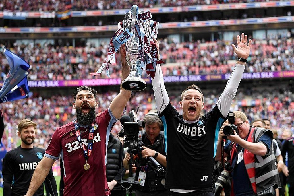 BOLA SEPAK ENGLAND Aston Villa kembali bersaing di Liga Perdana England