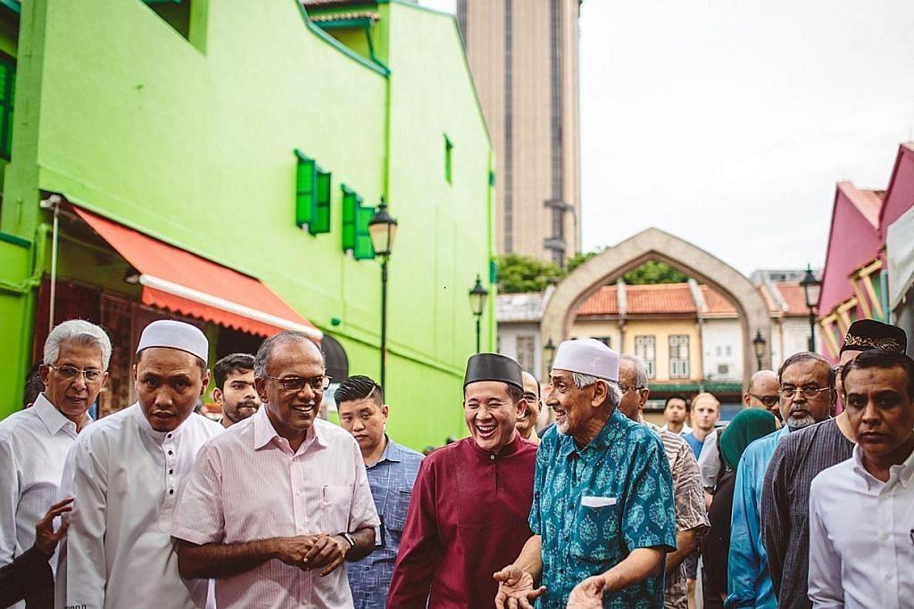 Shanmugam kunjungi Masjid Sultan, bazar