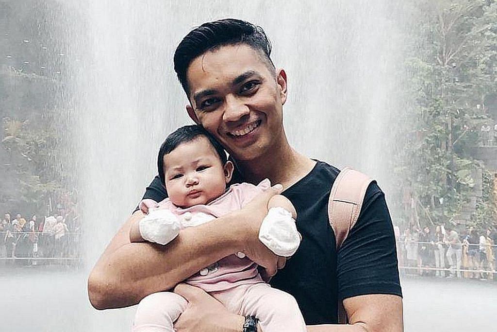 Didicazli, isteri rai bayi sulung selepas lima tahun berumah tangga