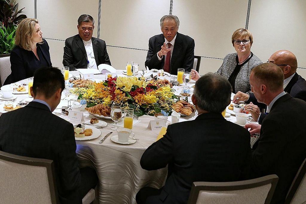 Menteri pertahanan lima negara sahkan komitmen pada FPDA
