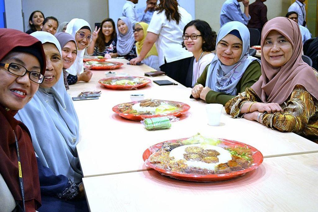 Rakan sekerja bukan Islam ikut puasa sehari suntuk Pendatang asing pelajari budaya, amalan, warisan Melayu Fahami keperluan pekerja sepanjang Ramadan