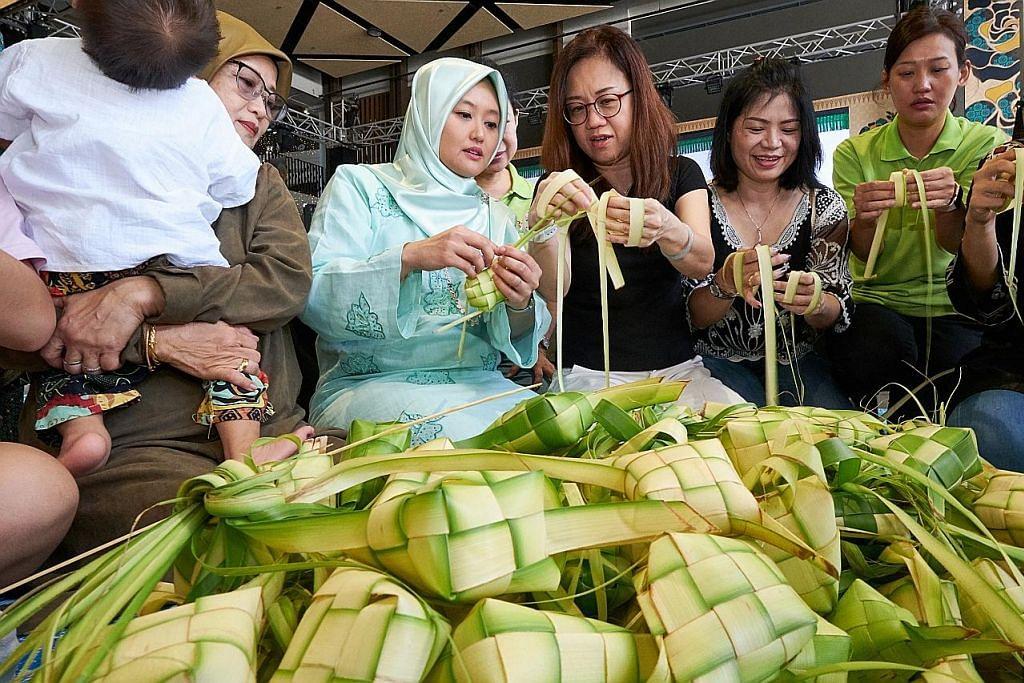 Bukan Melayu ikut seronok jayakan 'Ketupat-thon'