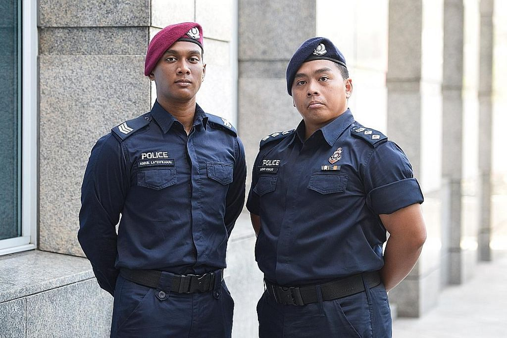 Jasa pegawai NS diiktiraf dalam perbarisan Hari Polis