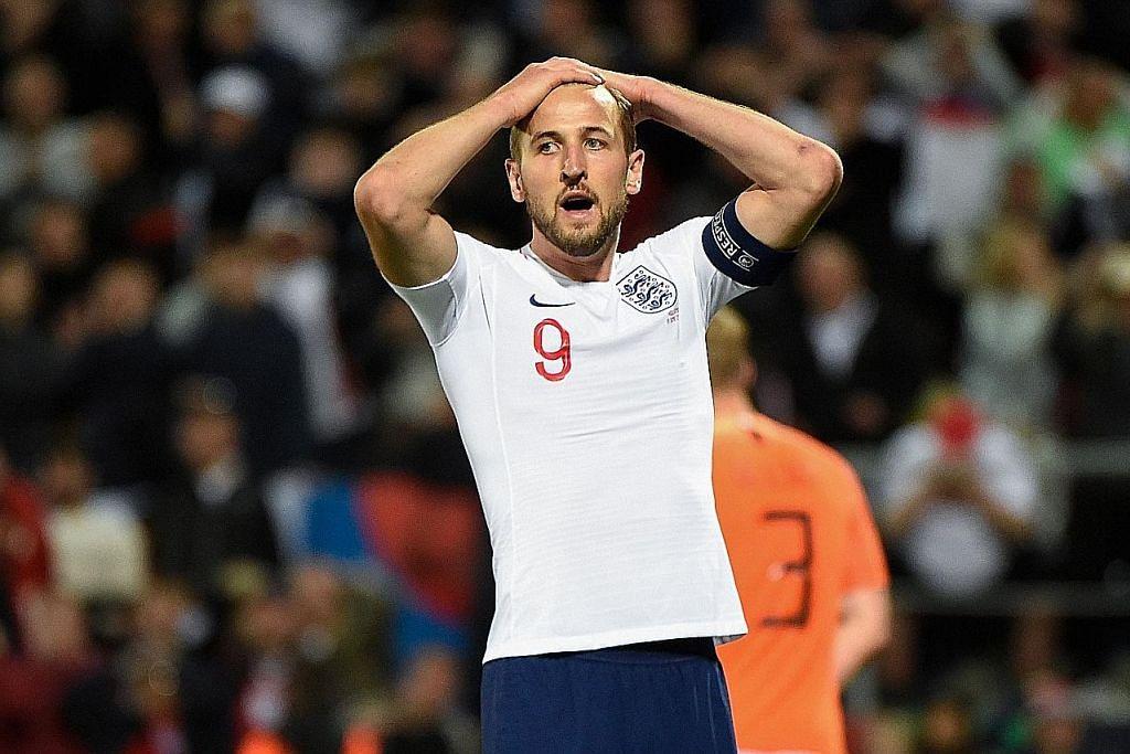LIGA NEGARA-NEGARA Kane: England tewas kepada Belanda hanya kerana kesilapan kecil