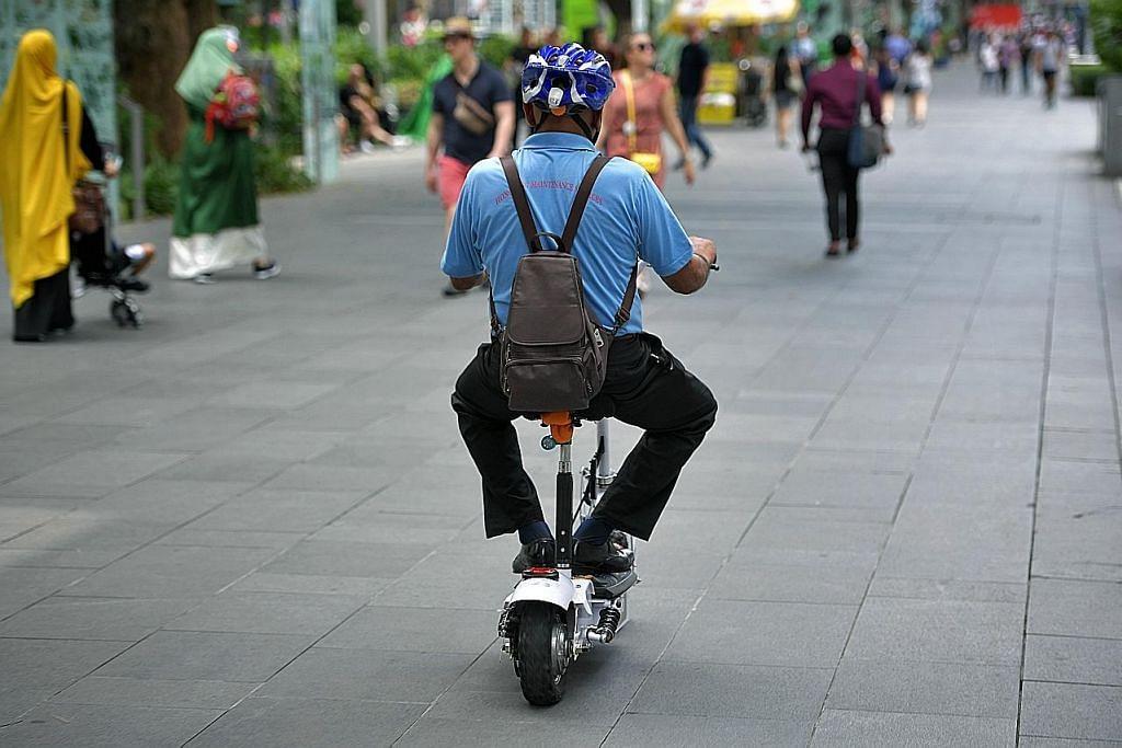 'Larang PMD di laluan pejalan kaki bukan huraiannya'