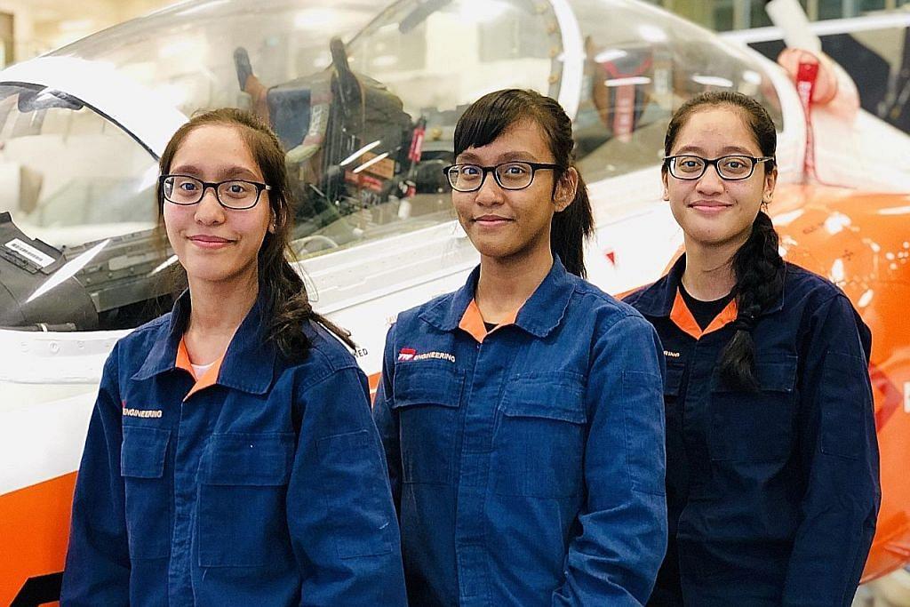 Tiga beradik 'terbang' ke alam futuristik bagi jaminan masa depan KERJAYA