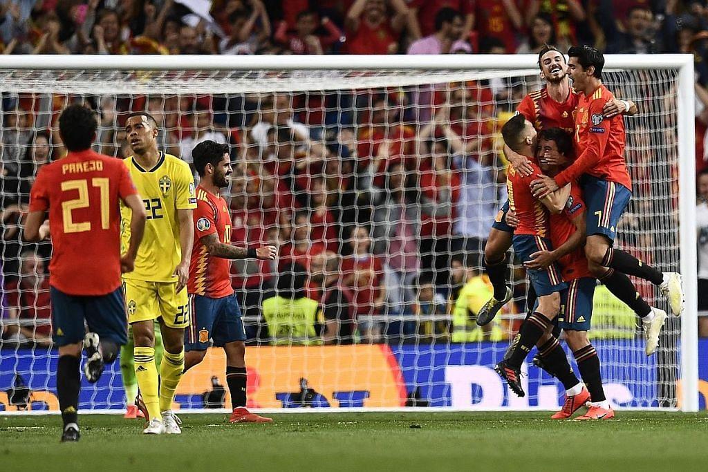 Sepanyol kekal permulaan sempurna