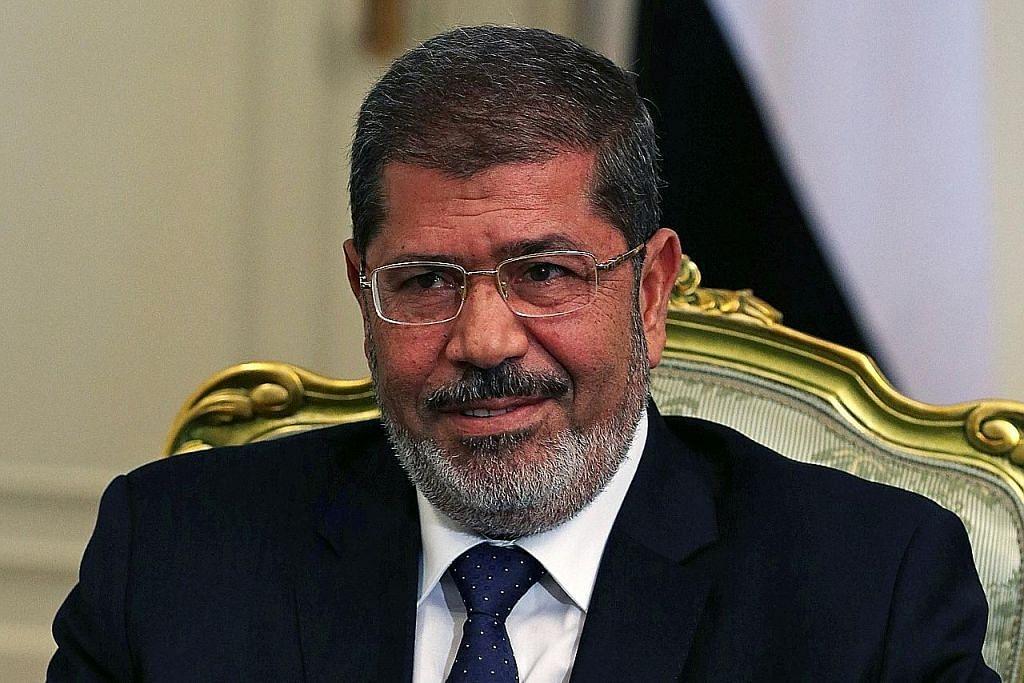 Mursi meninggal selepas rebah ketika dibicara