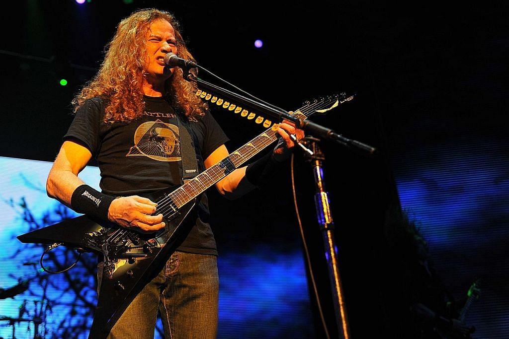 Barah tekak paksa penyanyi Megadeth batal siri konsert