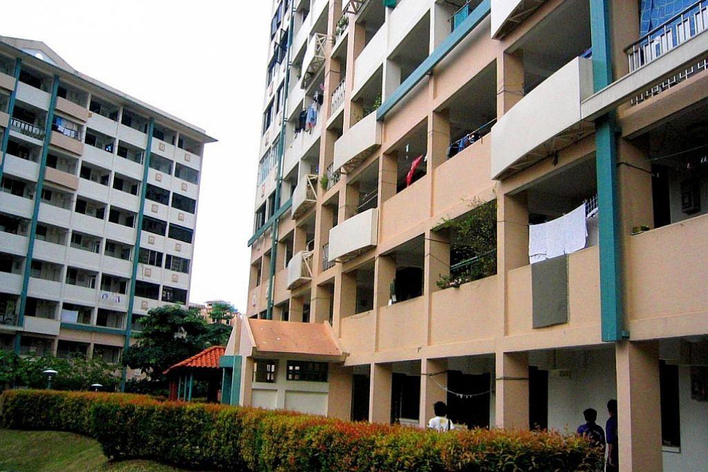 Flat lama 3 bilik laris kerana saiz lebih luas, harga lebih rendah