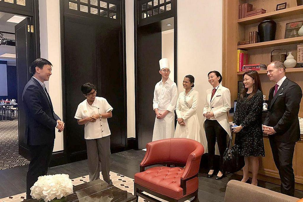 Persatuan hotel, vendor sedia latihan pelayanan