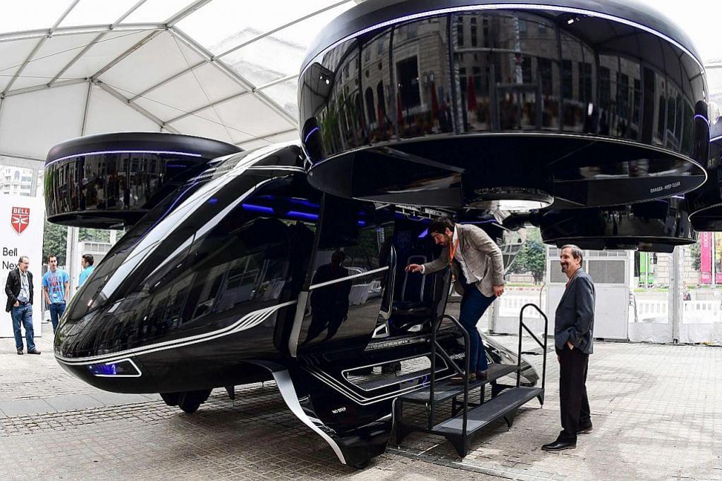 Paris rancang tawar 'teksi terbang' bagi kemudahan pengunjung di temasya