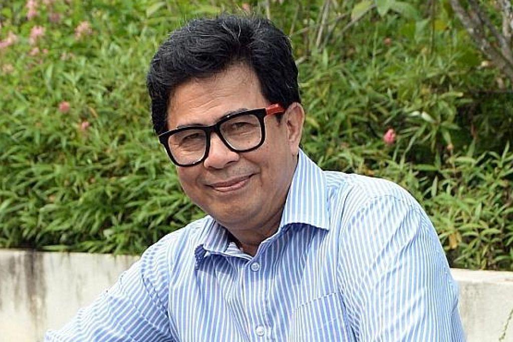 Halil Chik sempat beraya di Singapura bersama adik-beradik