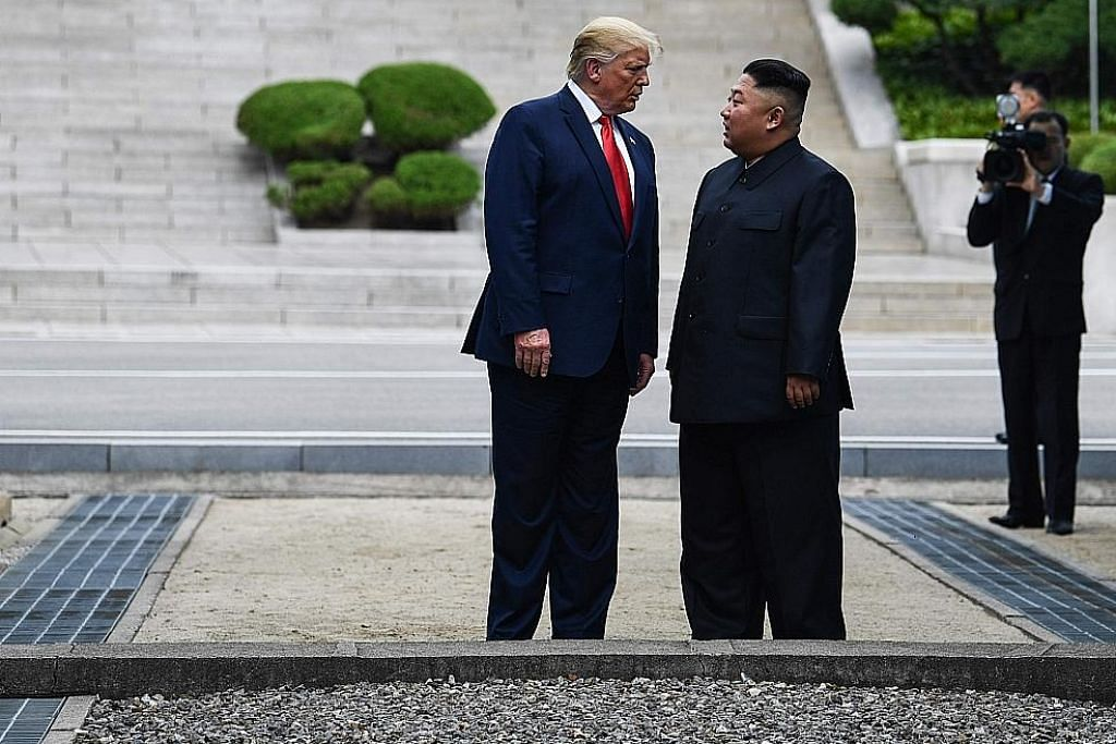 Trump cipta sejarah jumpa Kim di sempadan Korea Utara