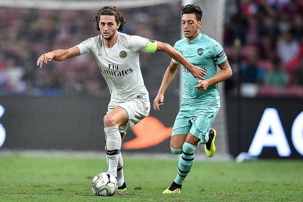 PEMINDAHAN PEMAIN Rabiot pilih Juventus
