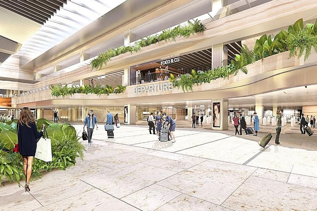 Terminal 2 Changi jalani kerja ubah elok suku keempat