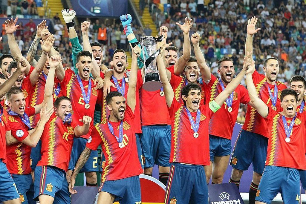 BOLA SEPAK KEJOHANAN EROPAH BAWAH 21 TAHUN Sepanyol juarai Kejohanan Eropah, atasi Jerman 2-1