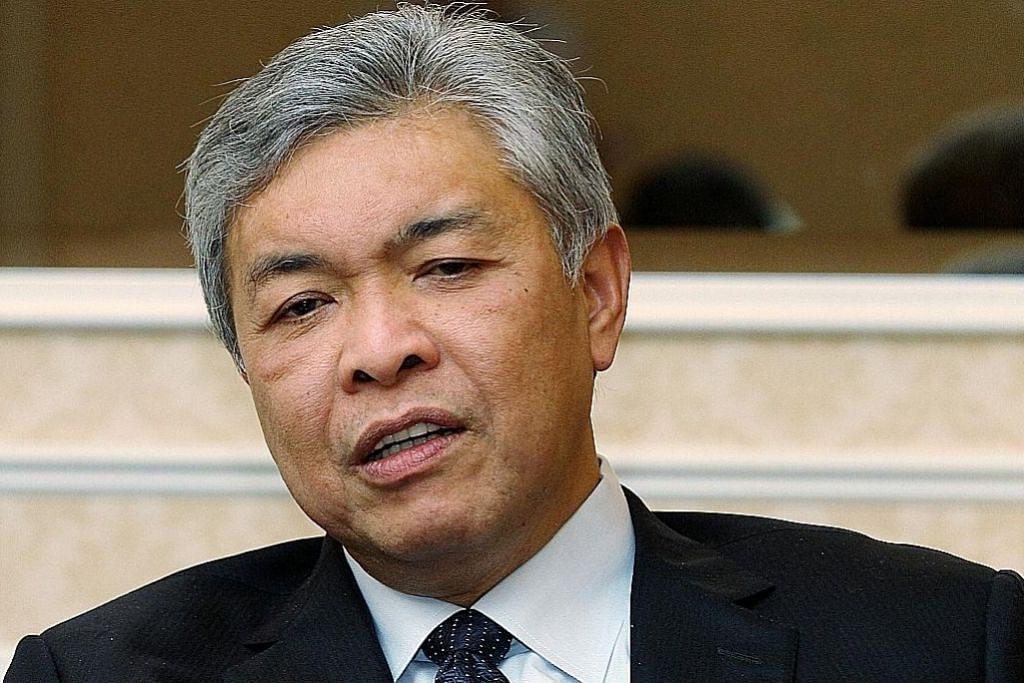 Zahid umum kembali bertugas sebagai Presiden Umno