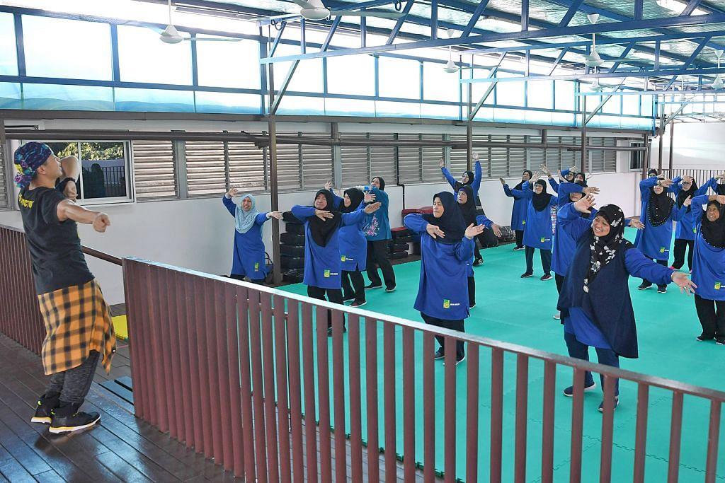 Masjid galak jemaah senam, sertai program gaya hidup sihat