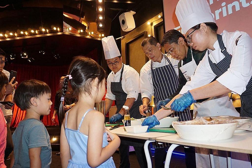 Maliki lancar acara memasak amal buat pelajar kurang mampu