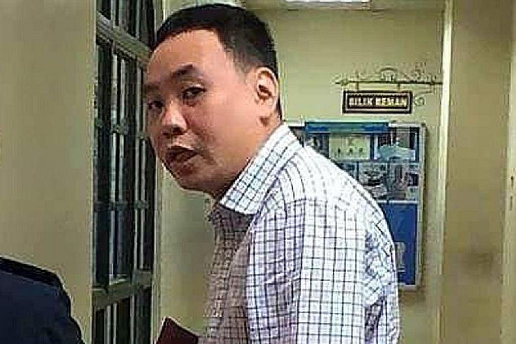 Lelaki S'pura didenda RM8,000 pamer nombor daftar kenderaan lain