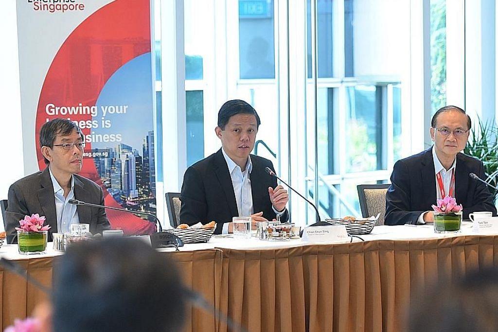 Program Scale-Up SG bantu bangun syarikat gergasi setempat EKONOMI