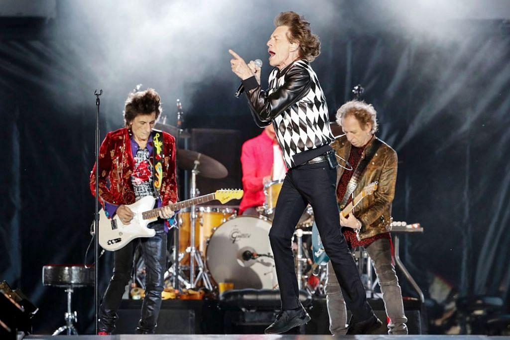 Rolling Stones tetap ligat di usia senja