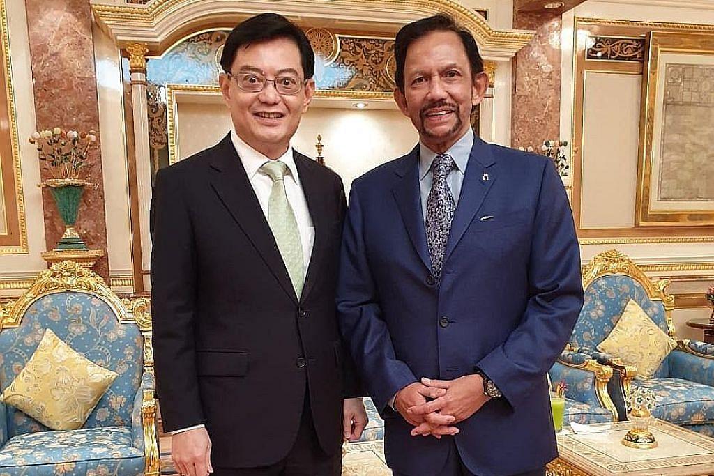 DPM Heng di Brunei rai ulang tahun sultan