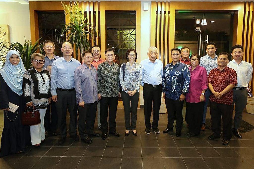 DPM Heng temui warga S'pura di Brunei