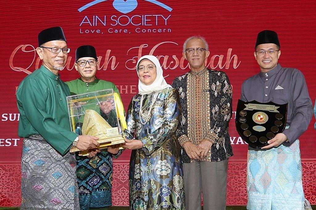 Pegawai kanan Masjid Kassim terima anugerah bapa teladan Persatuan Ain